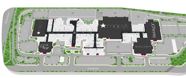 Dadeland Mall Map on