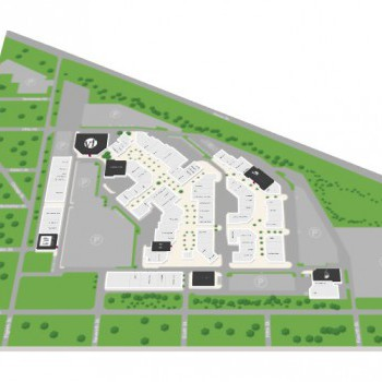 Lighthouse Place Premium Outlets stores plan