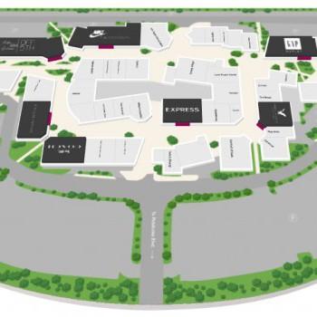 Petaluma Village Premium Outlets stores plan