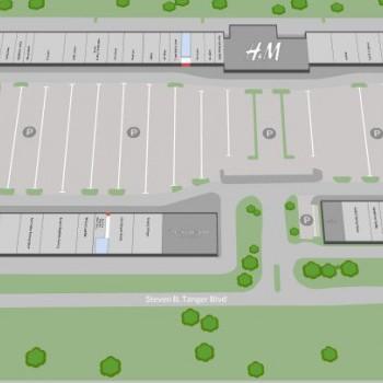 Tanger Outlets Commerce, GA stores plan