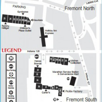 The Outlet Shoppes at Fremont stores plan