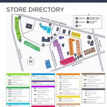 The Shops @ Rockvale stores plan
